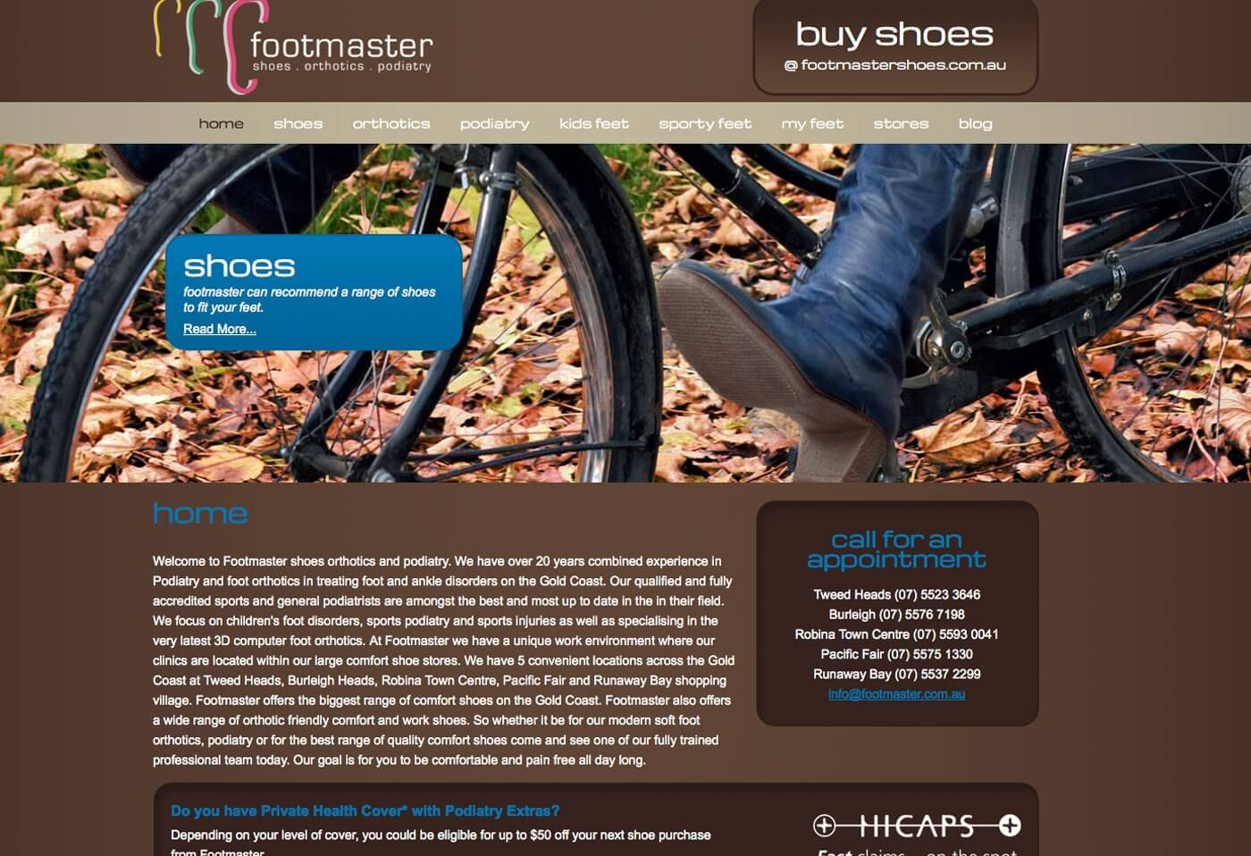 Able Video Footmaster Website 02