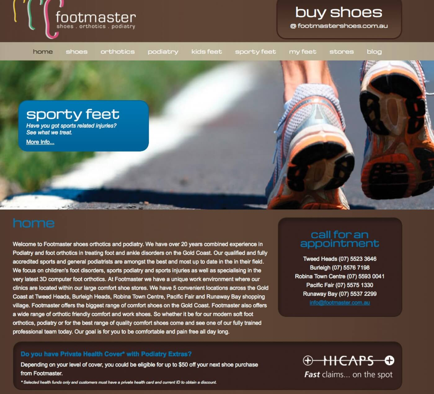 Able Video Footmaster Website