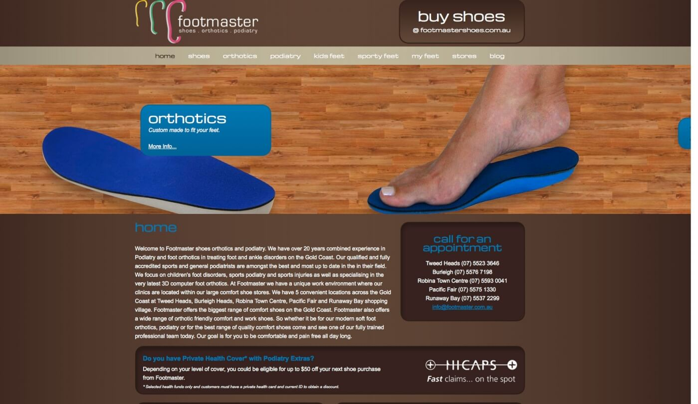 Able Video Footmaster Website 03