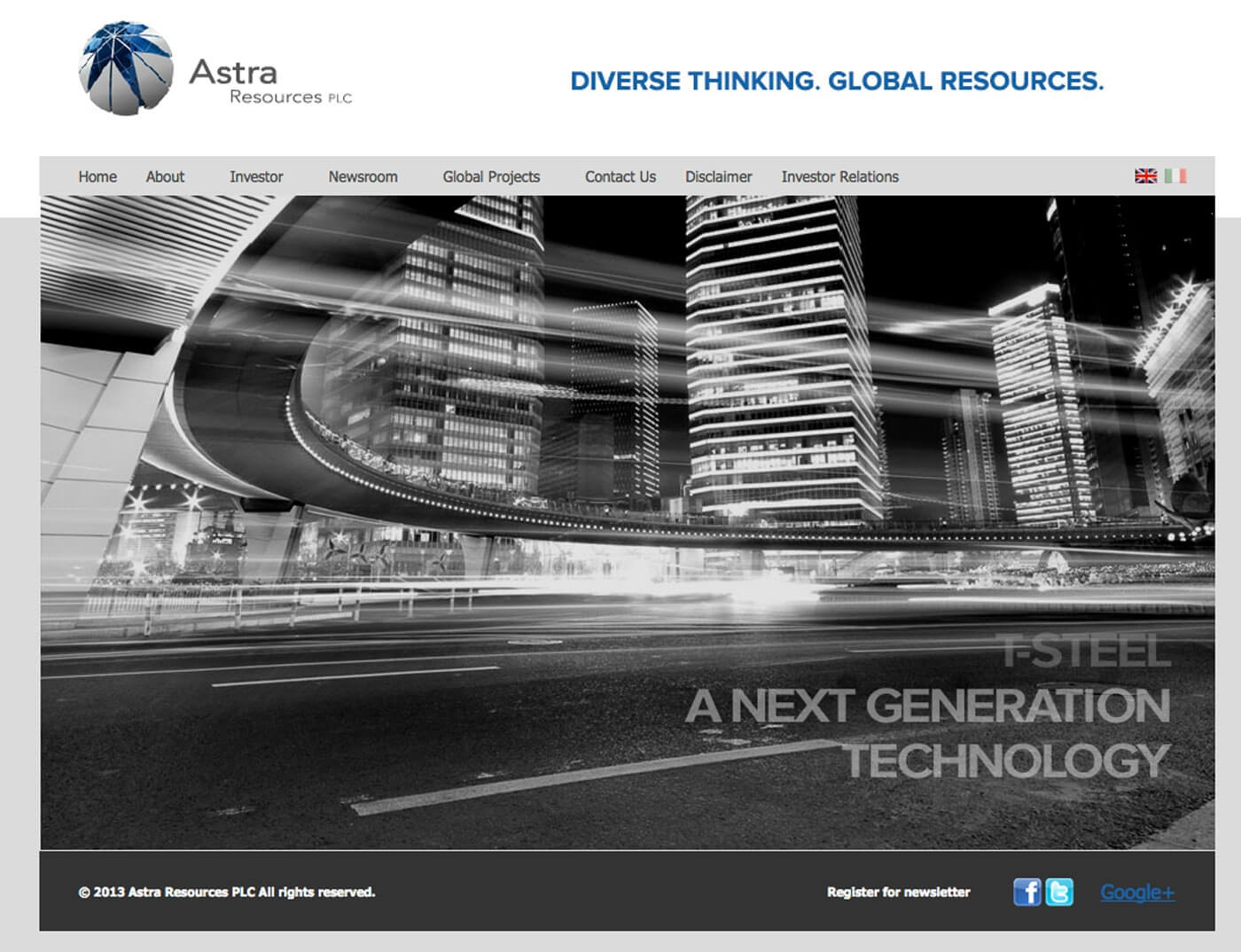 Astra Resources PLC