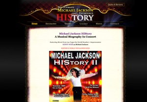 Able Video The Ultimate Michael Jackson Experience Website