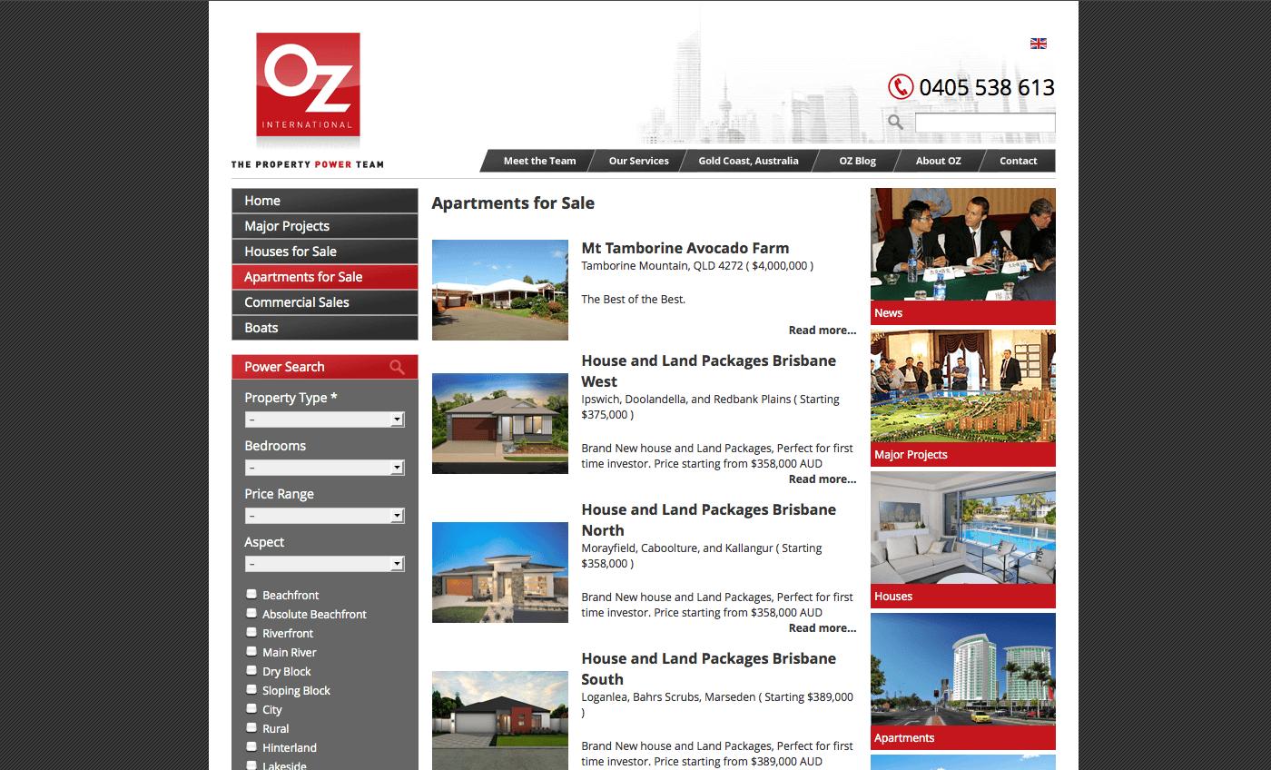 Able Video OZ International Property Website