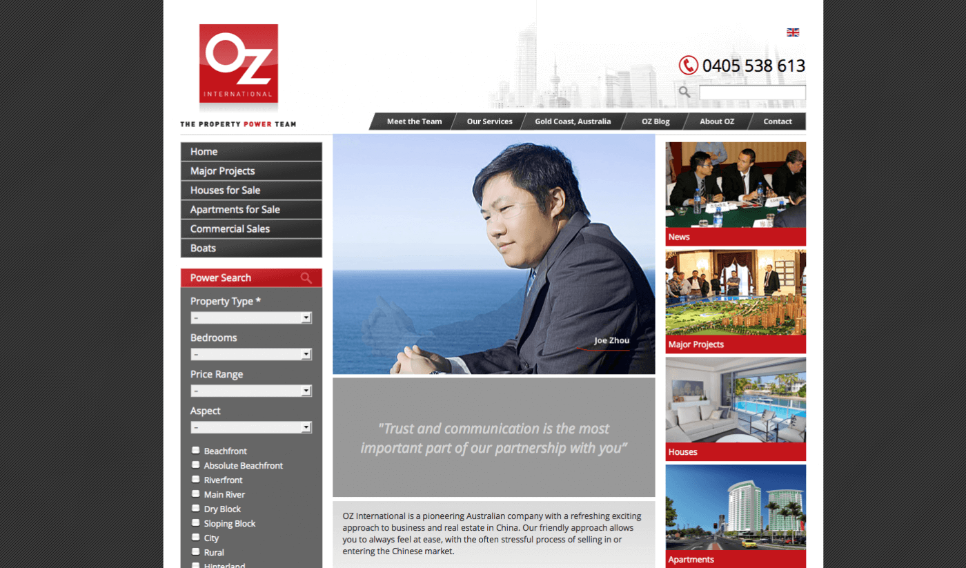 Able Video OZ International Property Website 02