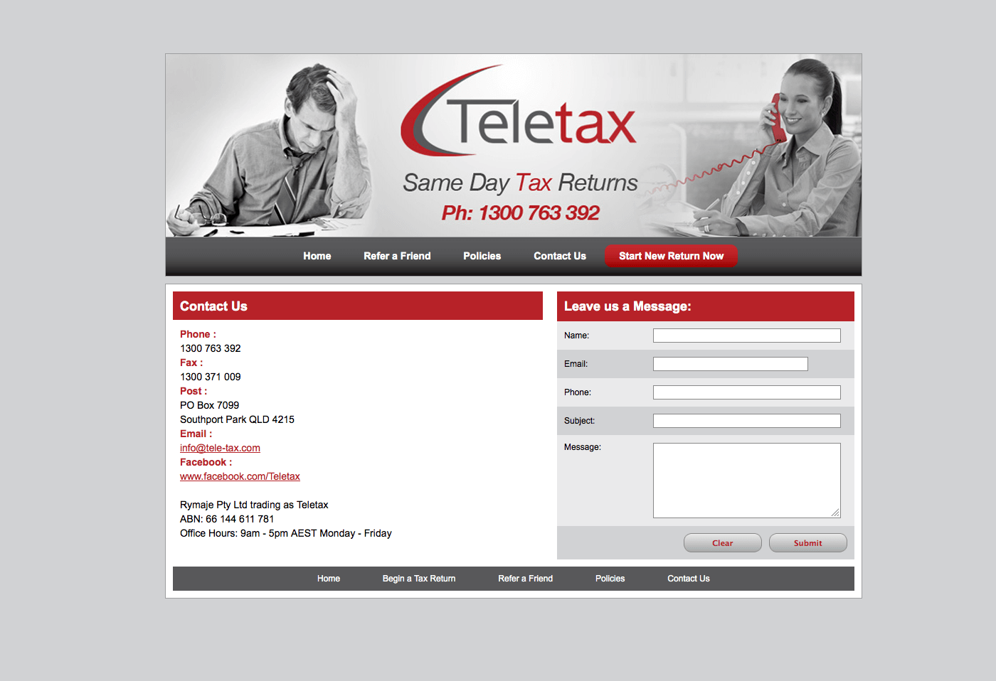 Able Video Teletax Website 03