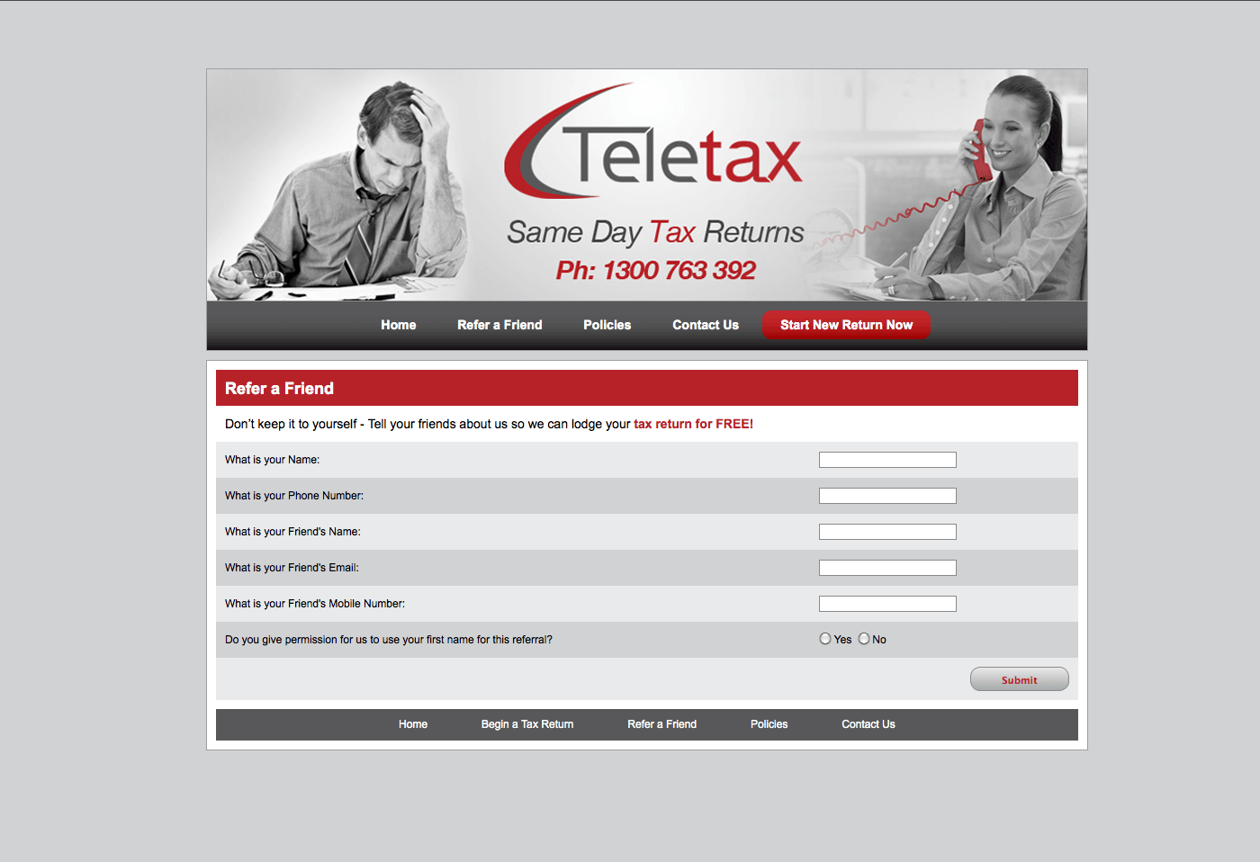 Able Video Teletax Website 02