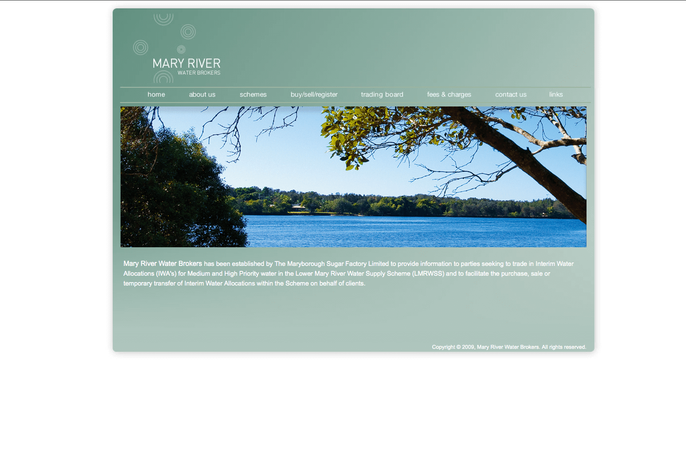 Able Video Mary River Water Brokers Website