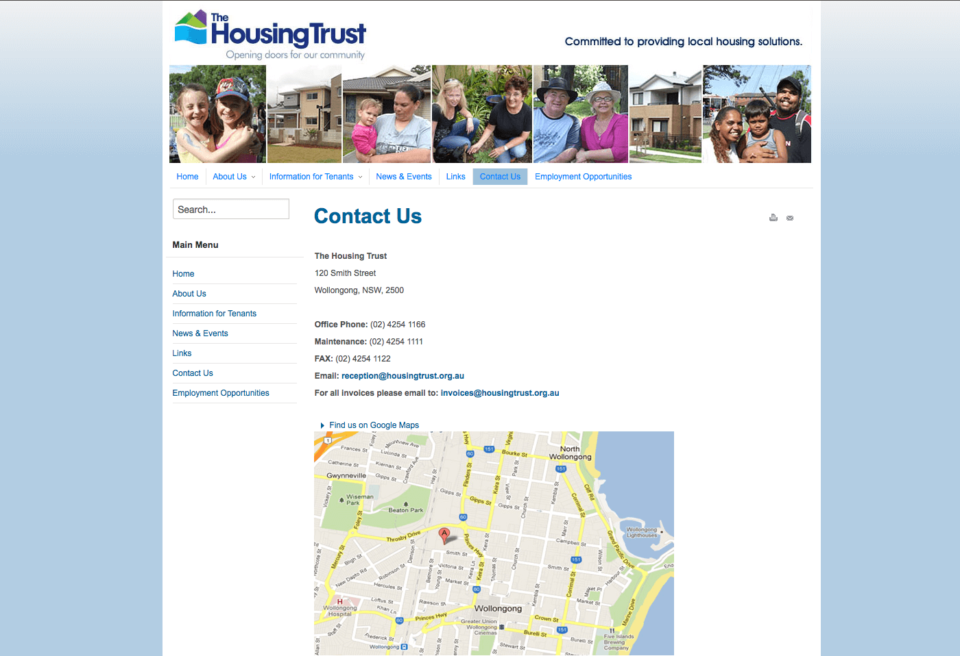 Able Video The Housing Trust Website 03