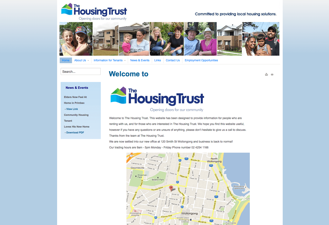 Able Video The Housing Trust Website