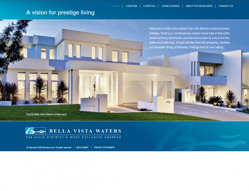 Bella Vista waters