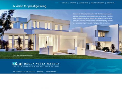 Bella Vista waters