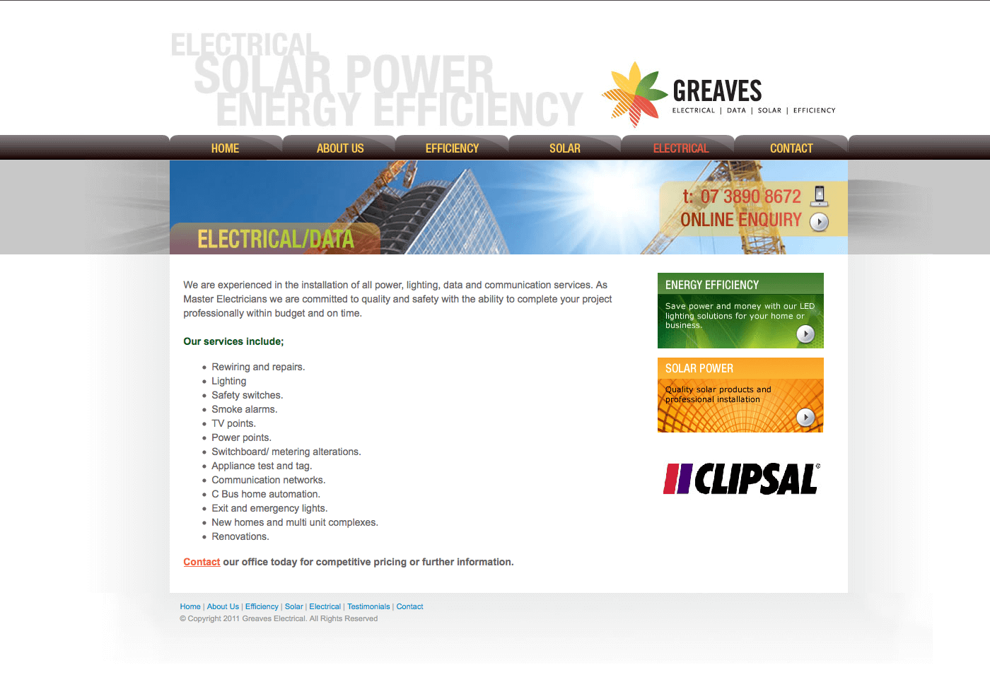 Able Video Greaves Electrical Website 02