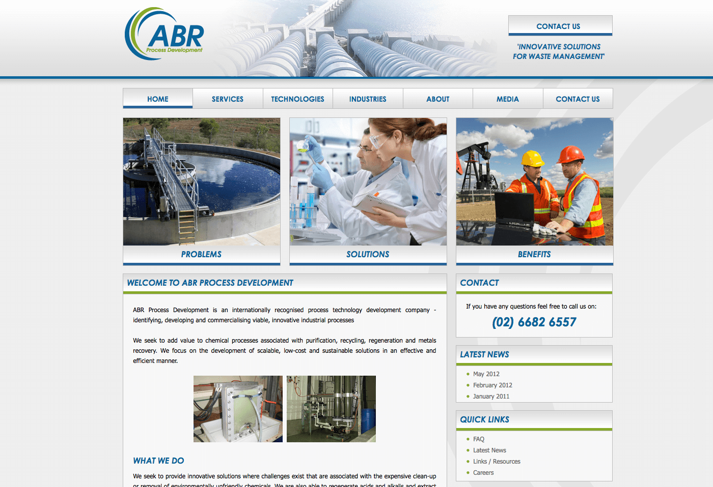 Able Video ABR Process Development Website