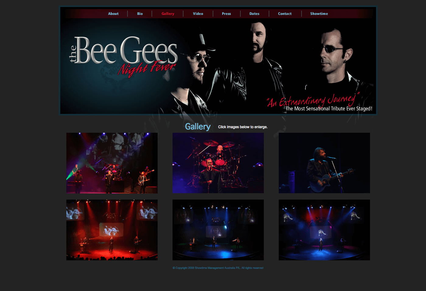 Able Video The Bees Gees – Night Fever Website 02
