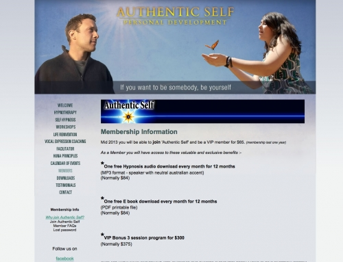 Authentic Self Personal Development