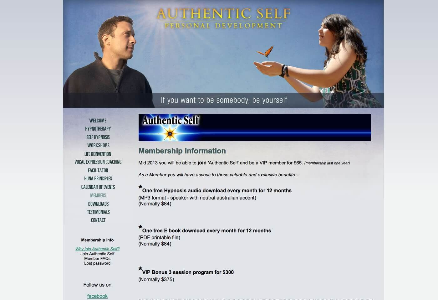 Able Video Authentic Self Personal Development Website