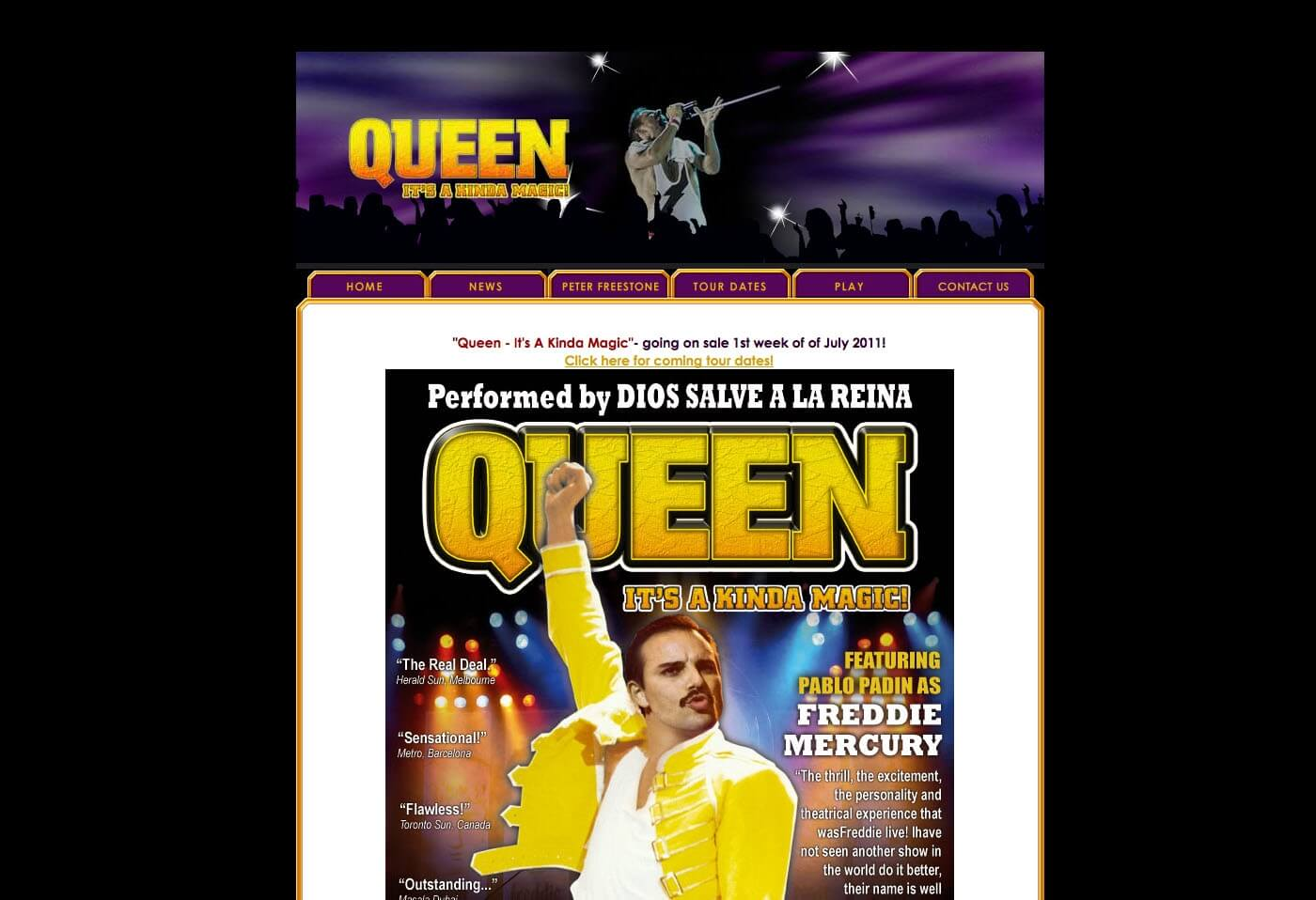 Able Video Queen – It's Kinda Magic Website