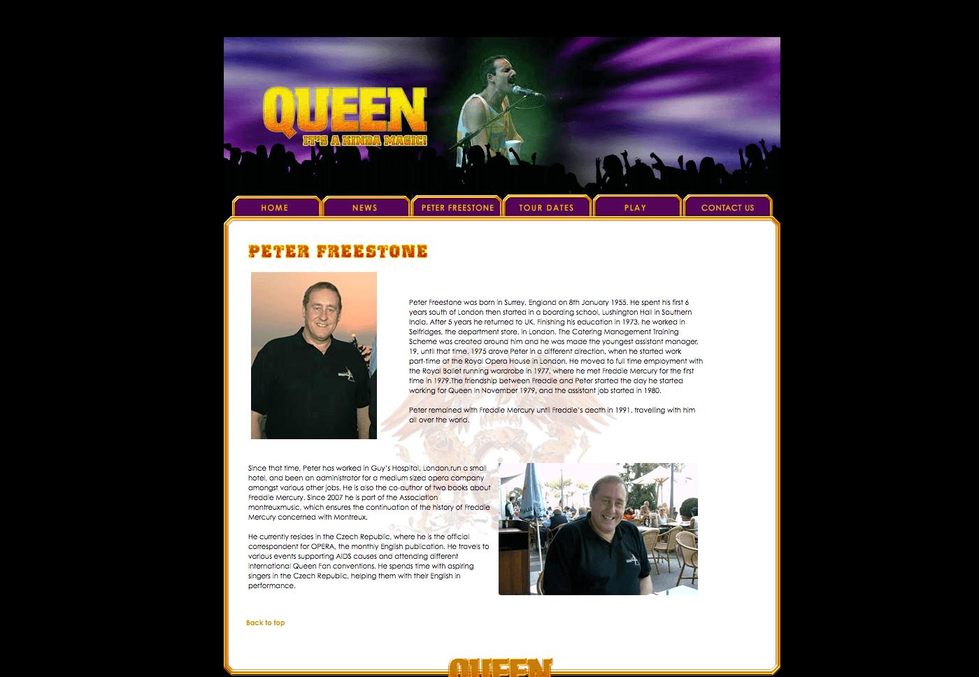 Able Video Queen – It's Kinda Magic Website 02