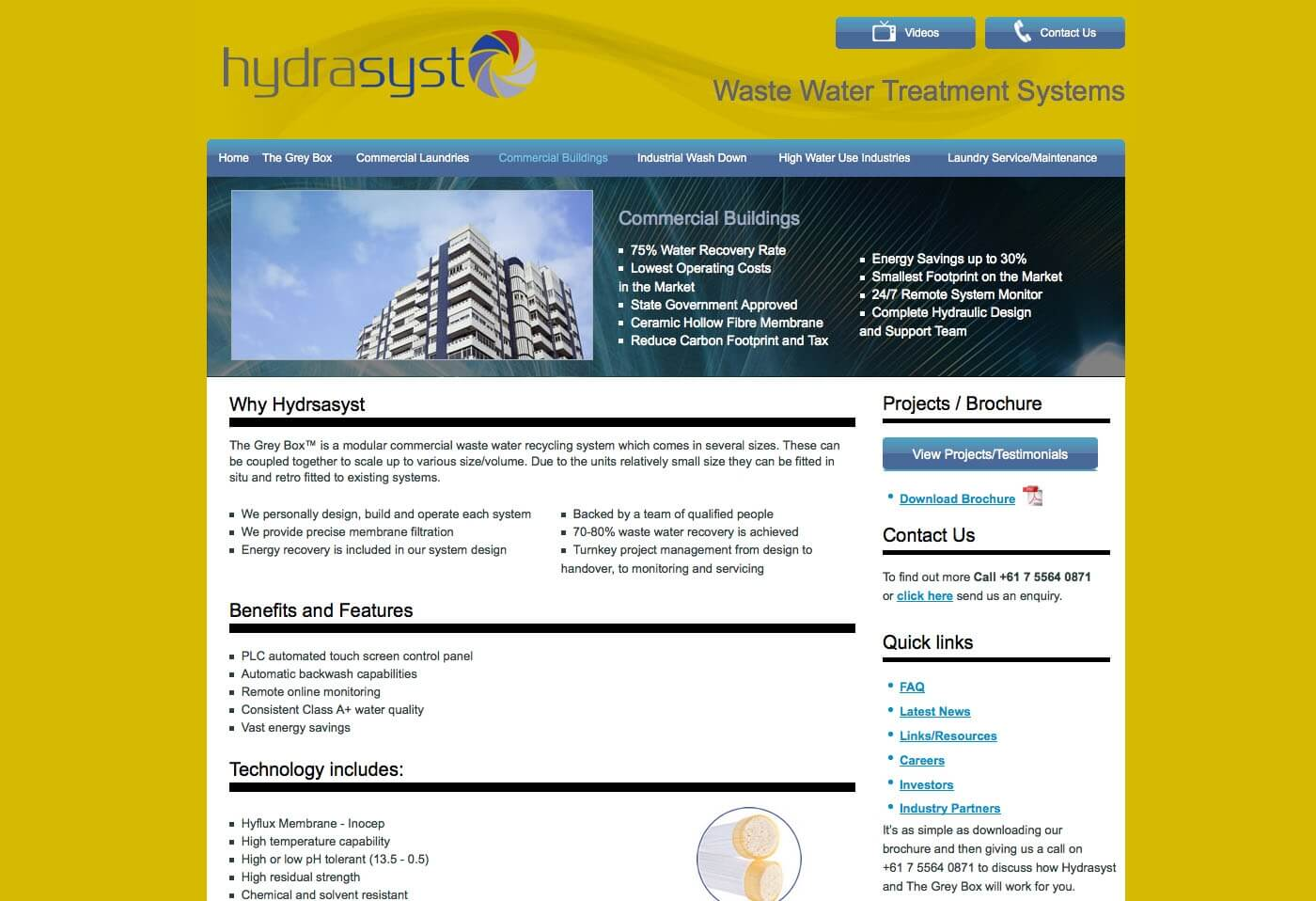 Able Video Hydrasyst Website