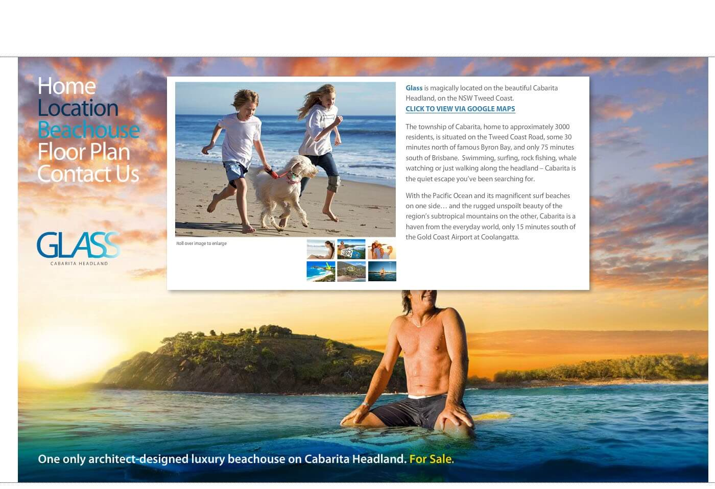 Able Video Glass Cabarita Headland Website