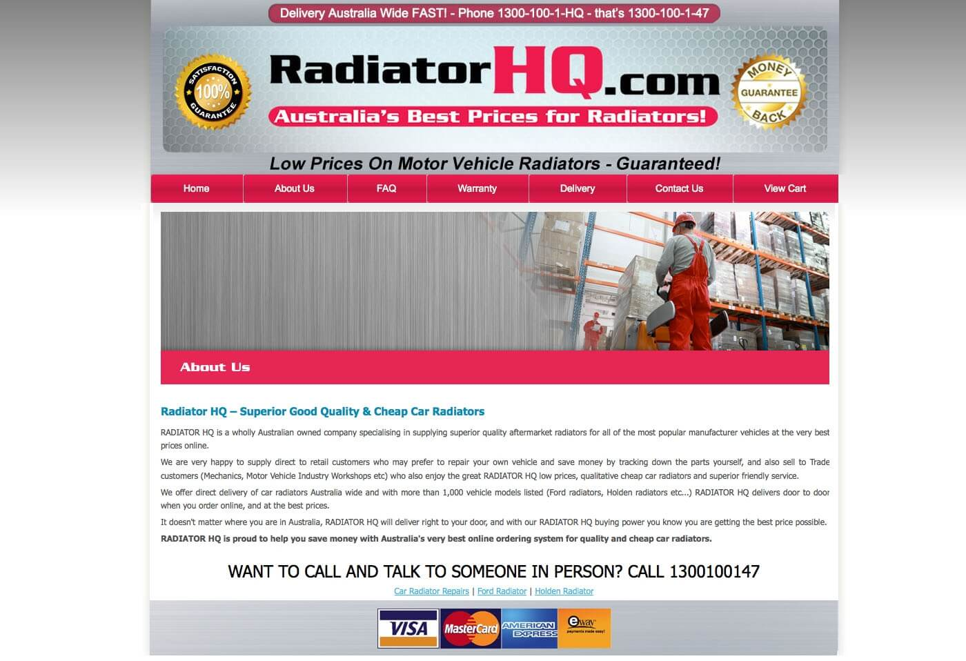 Able Video Radiator HQ Website