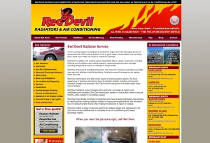 Able Video Red Devil Radiators & Air Conditioning Website 03