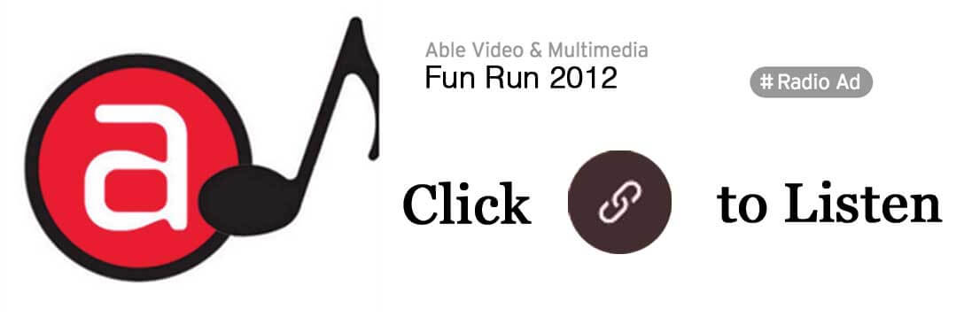Able Video Fun Run 2012 Radio Ad Gold Coast