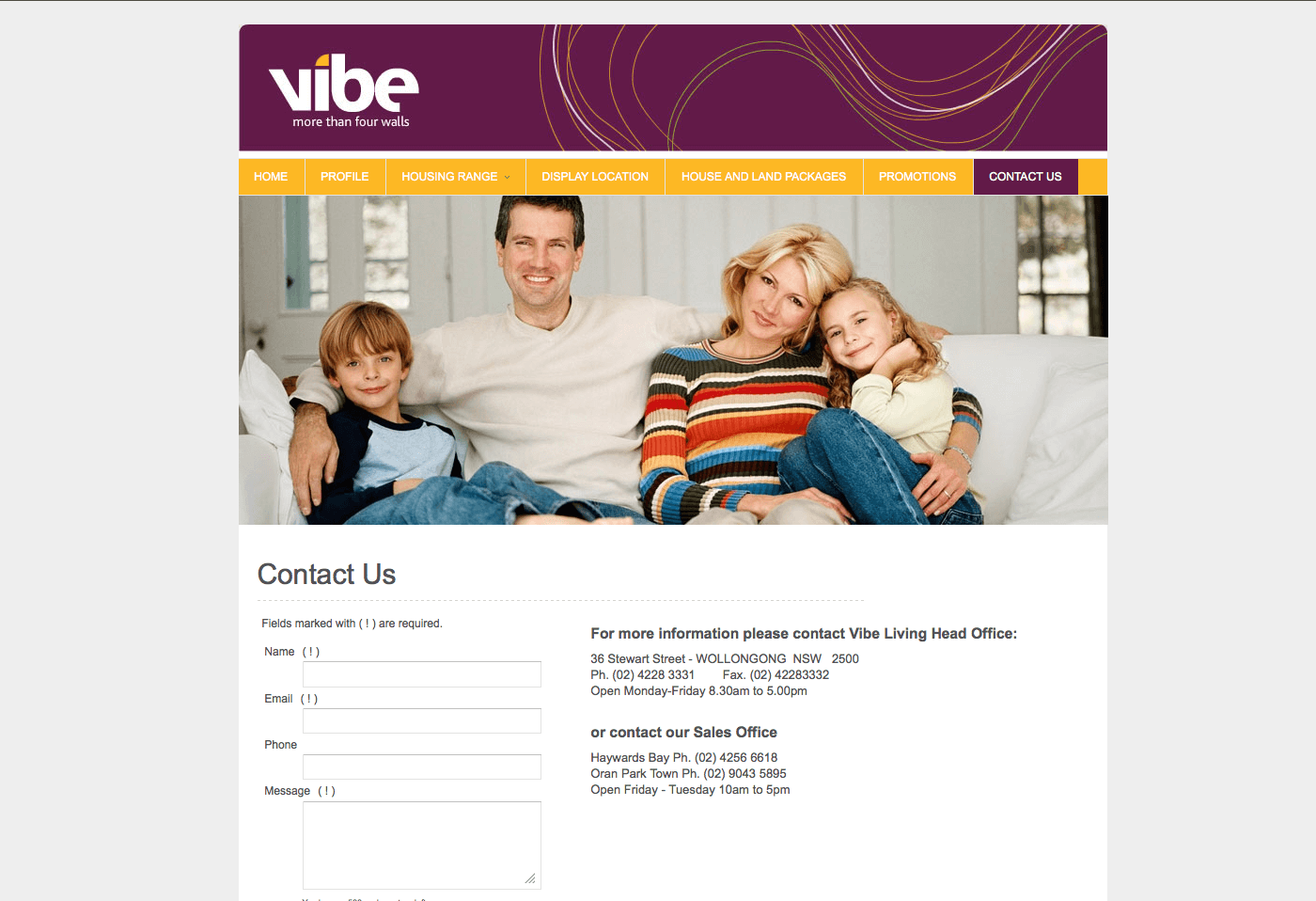 Able Video Vibe Living Website 03