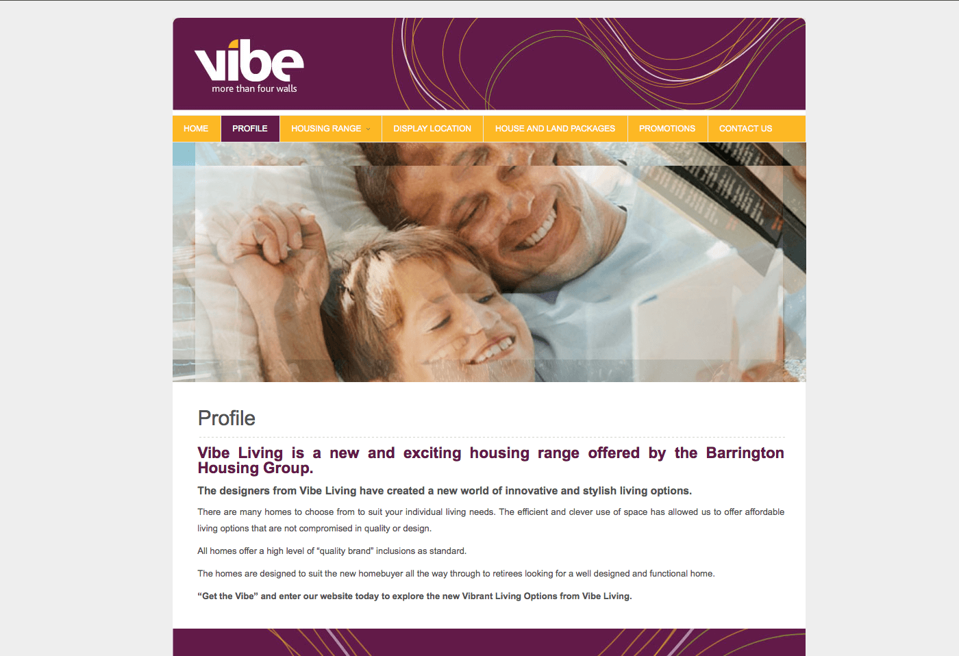 Able Video Vibe Living Website 02