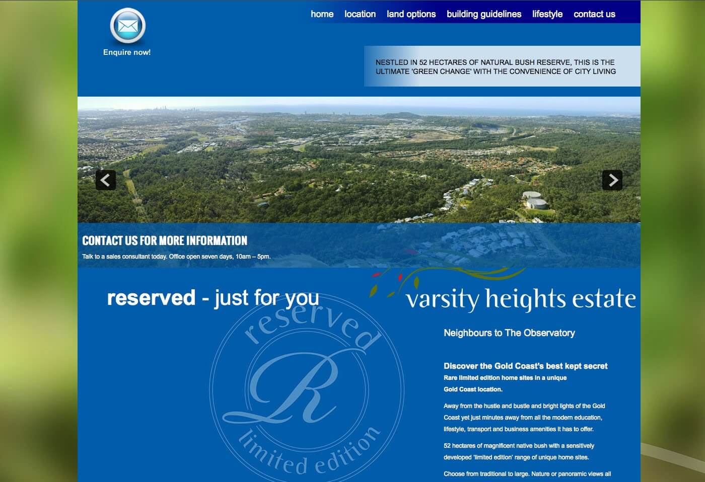 Able Video Varsity Heights Estate Website