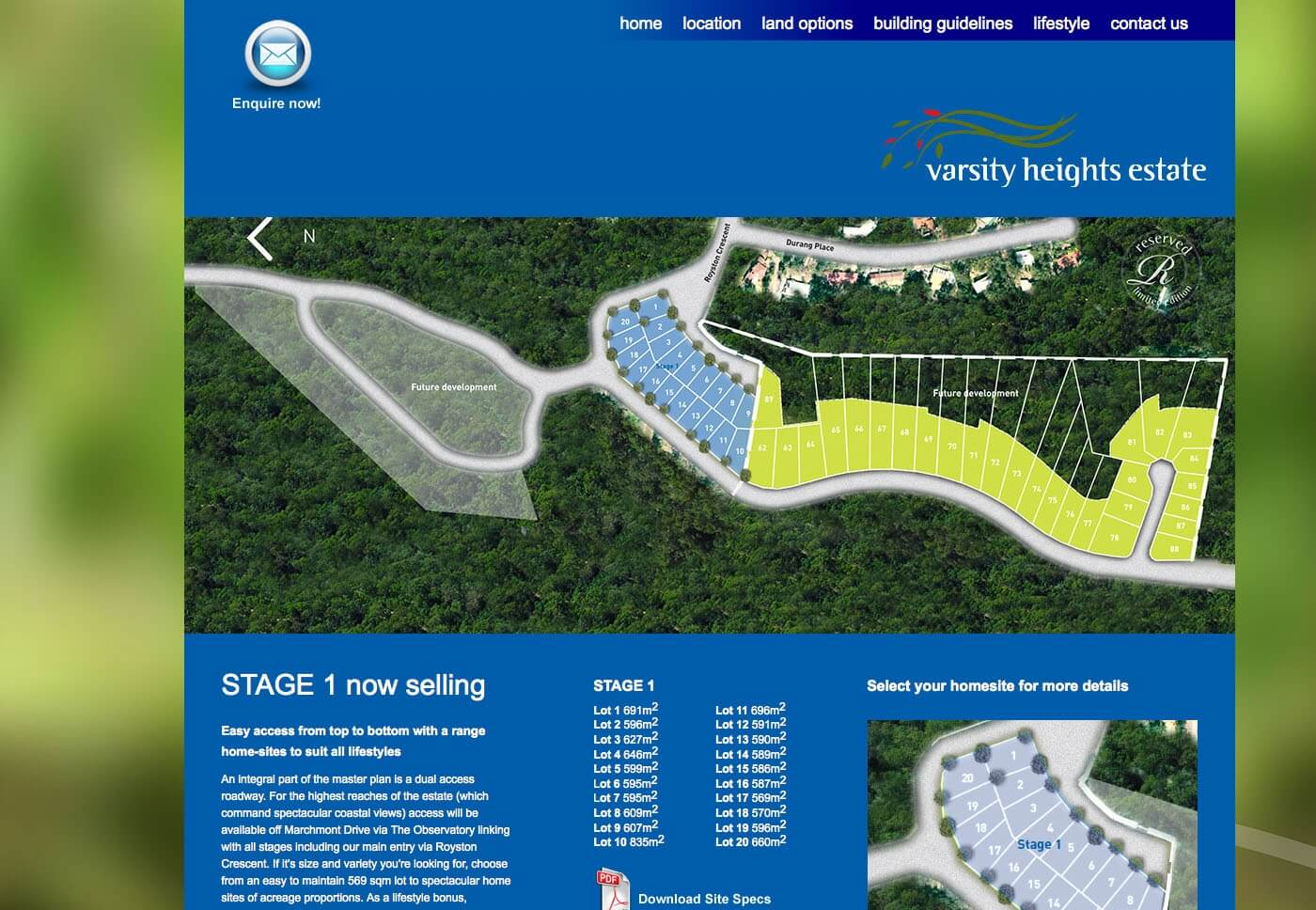 Able Video Varsity Heights Estate Website 02