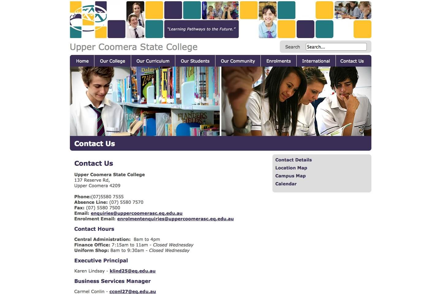 Able Video Upper Coomera State College Website 02