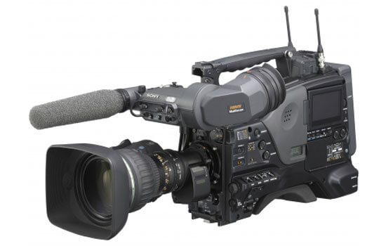 Able Video Sony PDW 800 XDCAM Video Camera Equipment Hire Gold Coast
