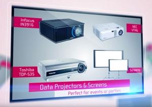Able Video Data Projectors Equipment Hire Gold Coast