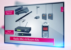 Able Video Microphones Equipment Hire Gold Coast
