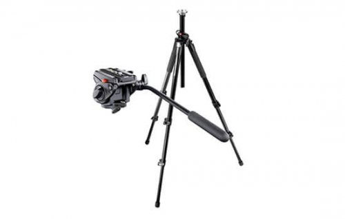 Able Video Manfrotto 701HDV 055XPROB Tripod Equipment Hire Gold Coast