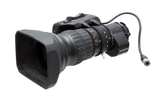 Able Video 2-3 Fujinon Lens Equipment Hire Gold Coast