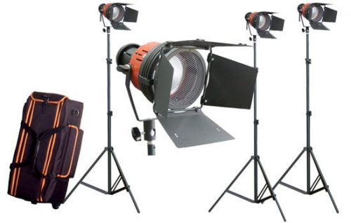 Able Video 300W Redhead Kit Light Equipment Hire Gold Coast