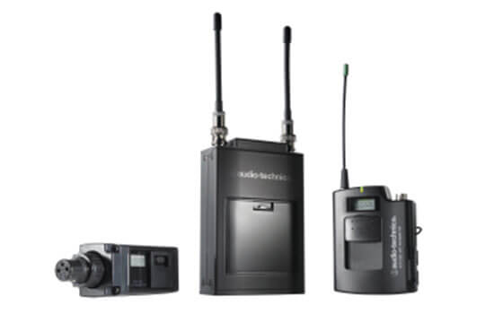 Able Video Audio Technica 1800 Series Dual Channel Wireless Microphone Equipment Hire Gold Coast