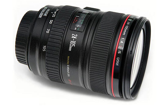 Able Video Canon EF 24-105mm F4L Lens Equipment Hire Gold Coast
