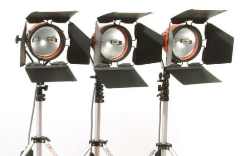 Able Video Ianiro Redhead Kit Light Equipment Hire Gold Coast