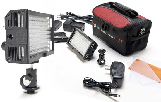 Able Video Miniburst 128 Camera Light Equipment Hire Gold Coast