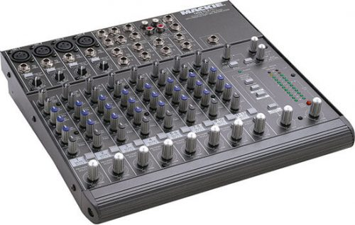 Able Video Mackie 1202-VLZ PRO Audio Mixer Equipment Hire Gold Coast