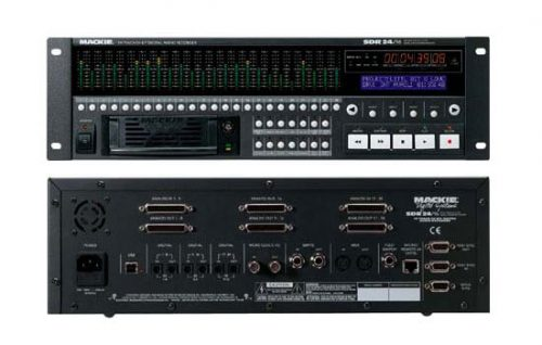 Able Video Mackie SDR2496 Audio Recorder Equipment Hire Gold Coast