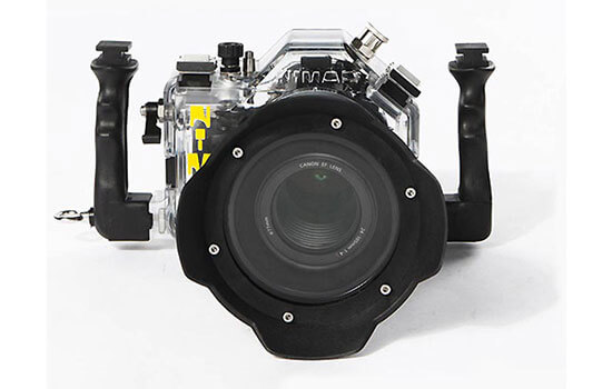 Able Video Nimar Waterproof Camera Housing for Canon 5D Mark-II Equipment Hire Gold Coast