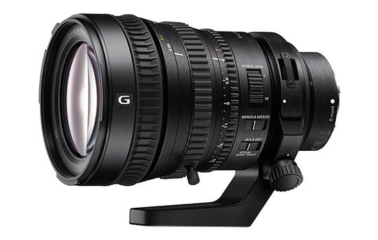 Able Video Sony 28-135mm Lens Equipment Hire Gold Coast