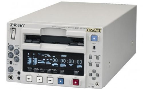 Able Video Sony DSR 1500P DVCAM Videocassette Recorder Equipment Hire Gold Coast