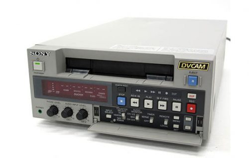 Able Video Sony DSR-40 DVCAM Recorder Deck Equipment Hire Gold Coast