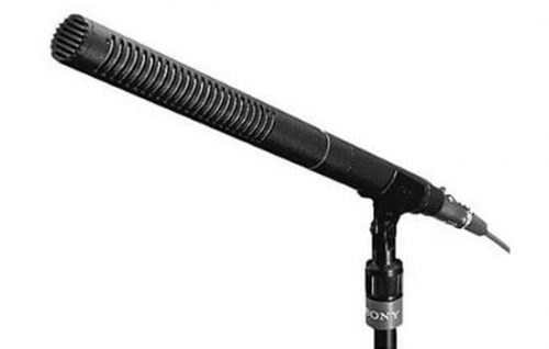 Able Video Sony ECM-672 Boom Microphone Equipment Hire Gold Coast