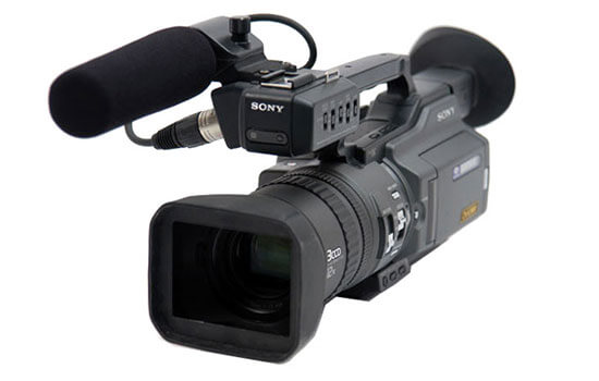 Able Video Sony PD150 DVCAM Camcorder Equipment Hire Gold Coast