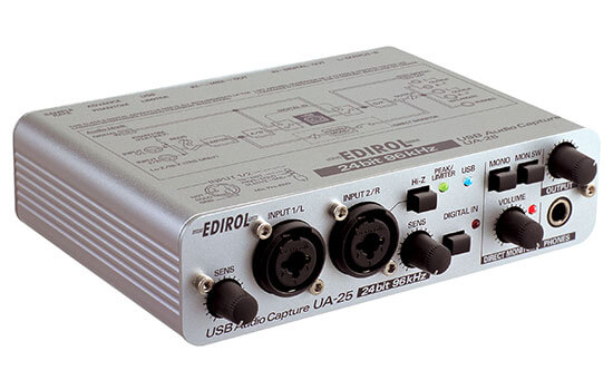 Able Video Edirol USB Interface Audio Capture Equipment Hire Gold Coast